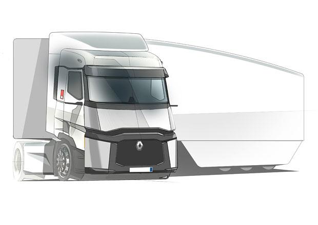 Renault Trucks Falcon: Nový projekt pro snížení spotřeby paliva