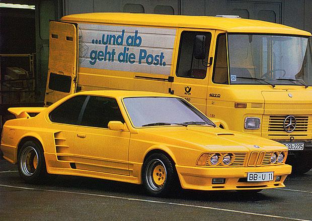 Žluté Husajnovo BMW 635 CSi od Gembally má pohnutý a záhadný osud