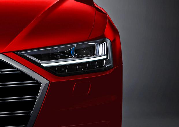 Nové Audi A8 odhaluje poslední detaily před premiérou. Nabídne masáž nohou!