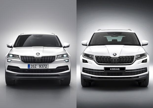 Srovnání: Škoda Karoq vs. Škoda Kodiaq. Opravdu potřebujete sedm míst?