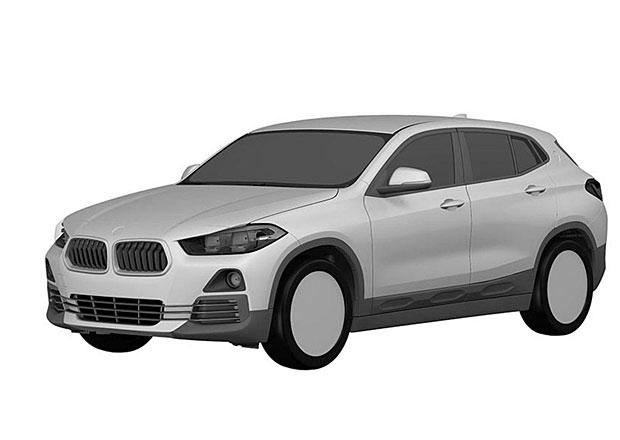 BMW X2 odhaleno na patentových kresbách. Odvážné jako loňský koncept rozhodně není
