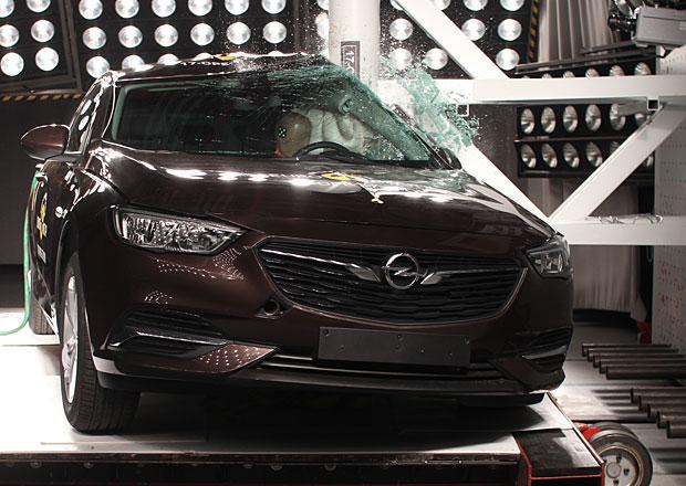 Euro NCAP 2017: Opel Insignia Grand Sport – Plný počet hvězd podle očekávání