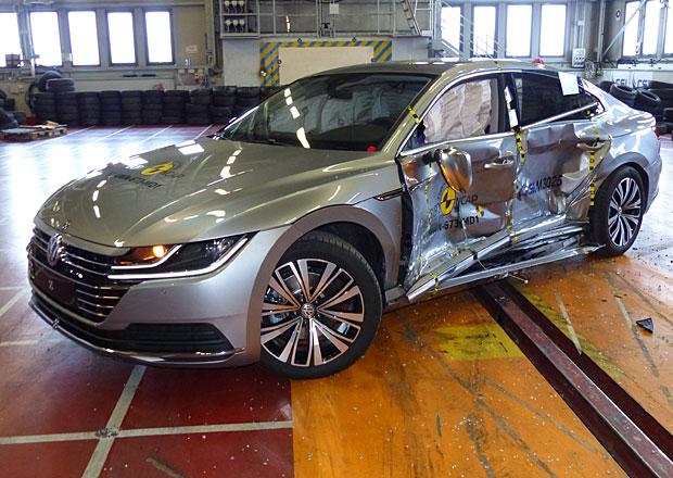Euro NCAP 2017: Volkswagen Arteon – Pět hvězd pro německého elegána