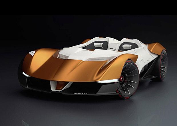 Chevrolet Monza SS: Designér oživuje známé jméno