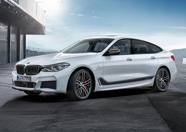 Žádáte ostřejší BMW řady 6 GT? Nabídku rozšíří prvky M Performance
