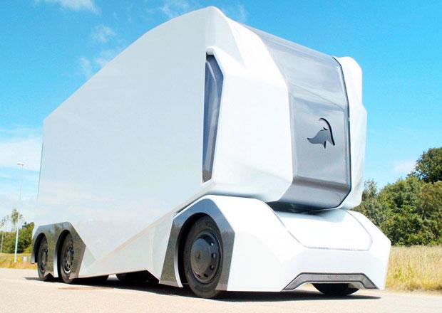 Švédi představili nákladní vůz budoucnosti. Sřidičem už vůbec nepočítá