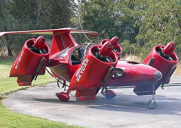 Moller M400 Skycar: Výjimečný prototyp létajícího auta hledá nového majitele