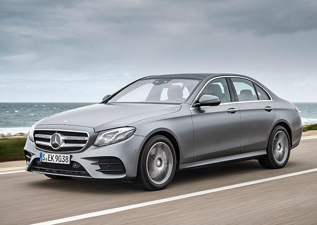 Mercedes-Benz E vylepšuje hlasové ovládání. Hlasem si nově pustíte i klimatizaci!