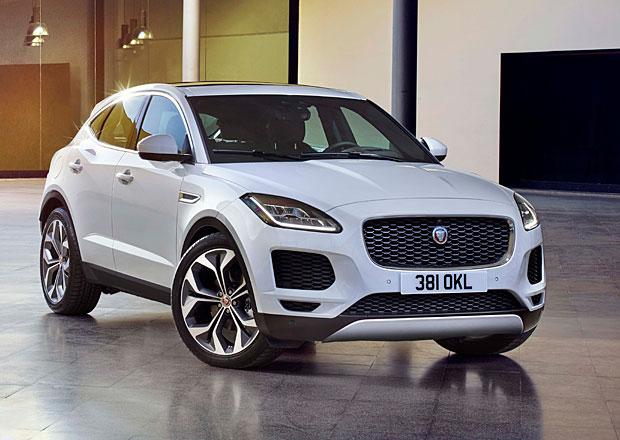 Jaguar E-Pace odhalil české ceny. Kompaktní SUV je v základu předokolkou