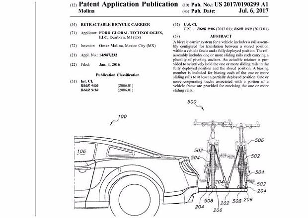 Ford vyvinul držák na kola... Pro Mustang!