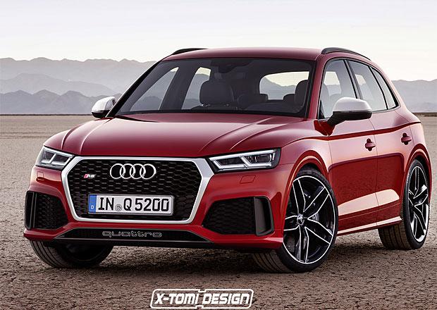 Audi RS Q5 prý dostane výkonný motor z kupé. Bude vypadat takto?