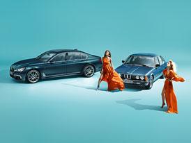BMW řady 7 Edition 40 Jahre je atraktivním dárkem k vlastnímu výročí