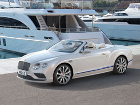 Bentley Continental GT Convertible Galene Edition by Mulliner: Silniční jachta pro čtyři