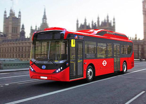 BYD ADL Enviro200EV: Elektrické autobusy pro Londýn
