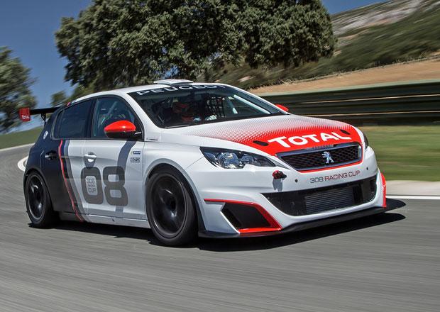 Za volantem závodního Peugeotu 308 Racing Cup: Zážitek na celý život! (+videa)