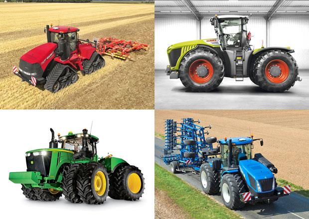 Nejvýkonnější traktory současnosti: Monstra s výkony 700 koní!