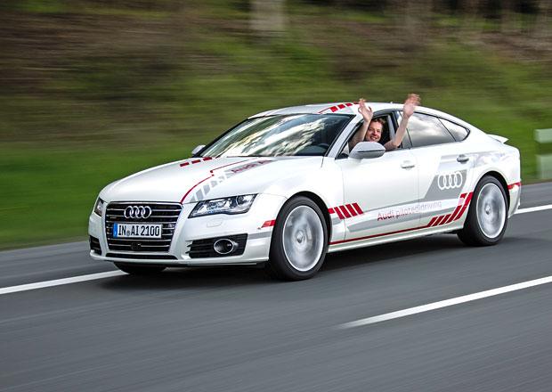 Autonomní Audi A7 Concept na vlastní kůži: Jízda bez řidiče dokáže být děsivá!