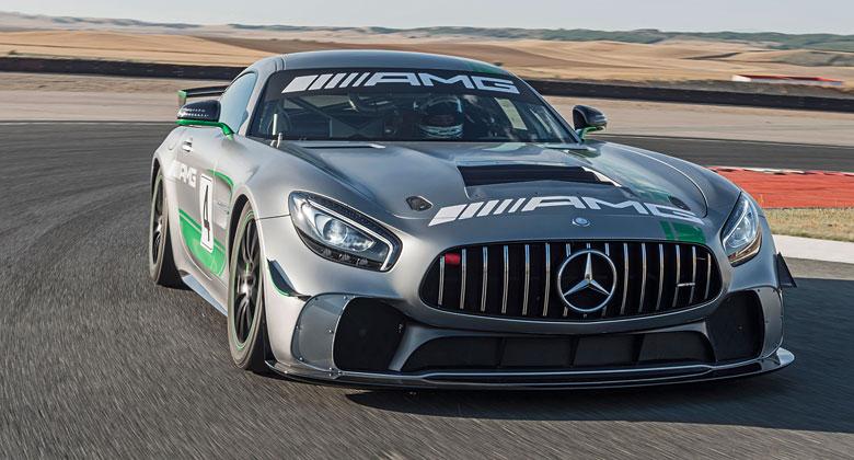 Mercedes-AMG GT4 je závodním derivátem bestiálního GT R
