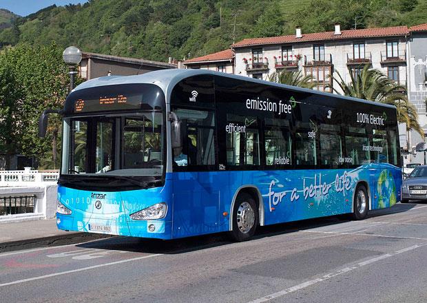 Irizar i2e: Městský elektrobus ze Španělska