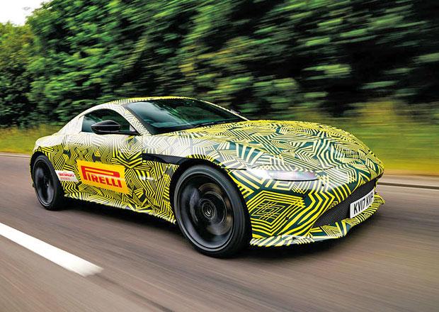 Aston Martin Vantage: Nová generace bude jako služební vůz Jamese Bonda