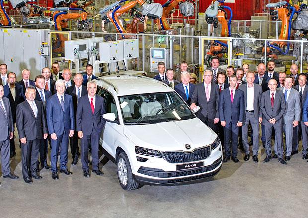 Škoda Karoq se už vyrábí. Co všechno bylo potřeba k nastartování výroby?