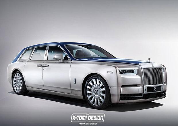 Rolls-Royce Phantom Shooting Brake: Je superluxusní kombi dobrý nápad?