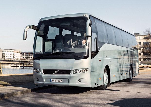 Volvo Buses pro zájezdy: Tři řady