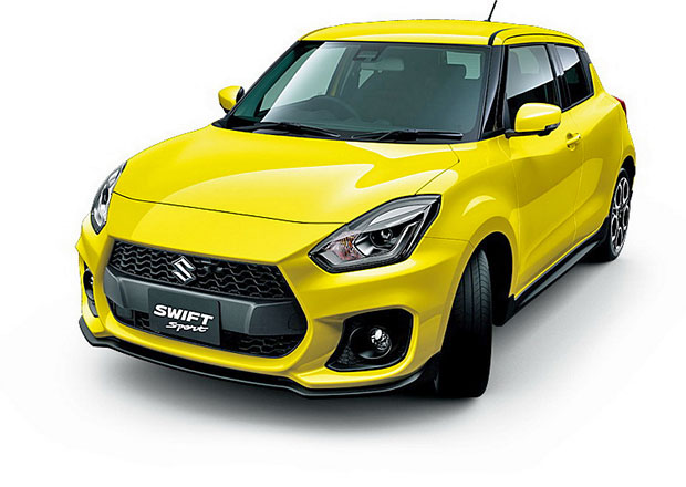 Suzuki Swift Sport na nových snímcích. Opravdu má turbo a dvě koncovky výfuku!