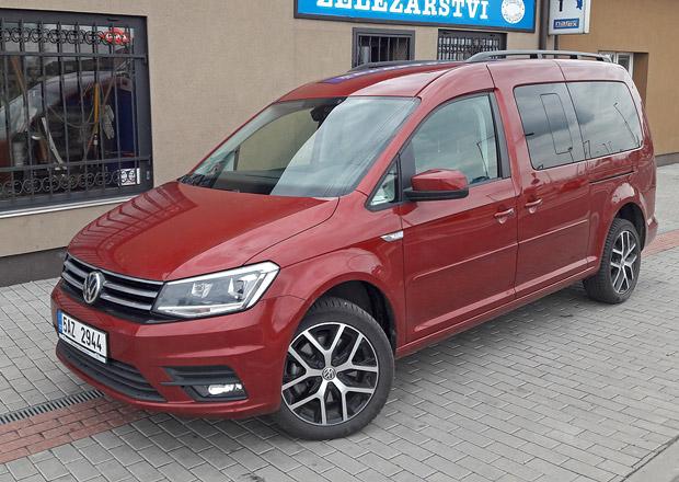 Volkswagen Caddy Maxi 2.0 TDI: Osm tisíc (závěr)