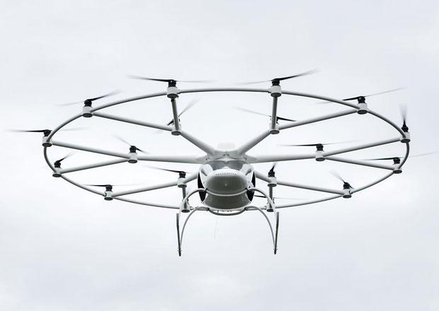 Daimler AG investuje do autonomního aerotaxi Volocopter
