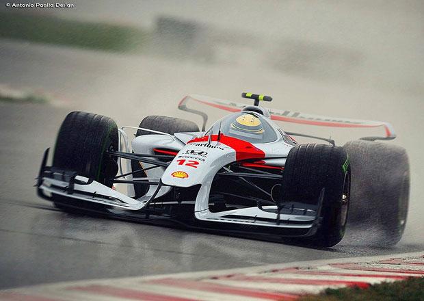 Jak budou vypadat vozy F1 v roce 2025? Vize ukazuje monoposty, které by chtěl snad každý!