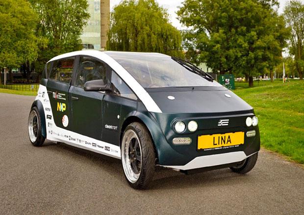 Tohle auto je vyrobeno z cukru a je biologicky rozložitelné...