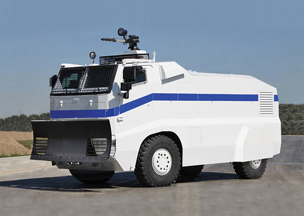 Otokar ISV: Pro bezpečnou dopravu v nebezpečných oblastech