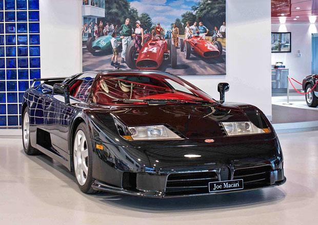 Je libo Bugatti EB110 SS v atypické černé? Připravte si balík