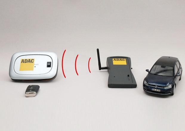 Auta lze pořád ukrást za pár sekund. Díky signálu z bezklíčového odemykání
