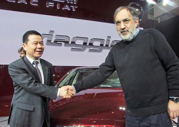 Koupí Fiat Chrysler Číňané? Schůzky už probíhají...
