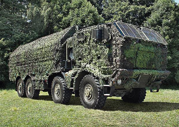 Tatra Force 8x8.1R s pancéřovanou kabinou pro Armádu České republiky detailně