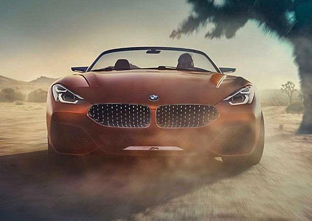 Koncept BMW Z4 přijíždí i na prvním videu. A vypadá opravdu fantasticky!