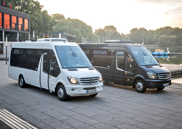 "Mercedes-Benz Sprinter Travel 65 ""10 Year Edition"": Komfortní minibus oslavuje"