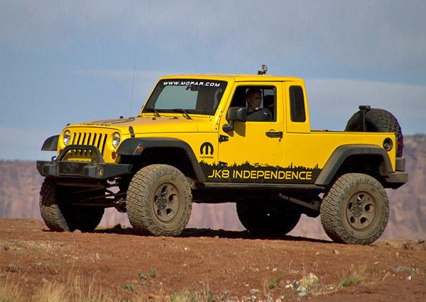 Jeep použije pro nový pick-up jméno Scrambler