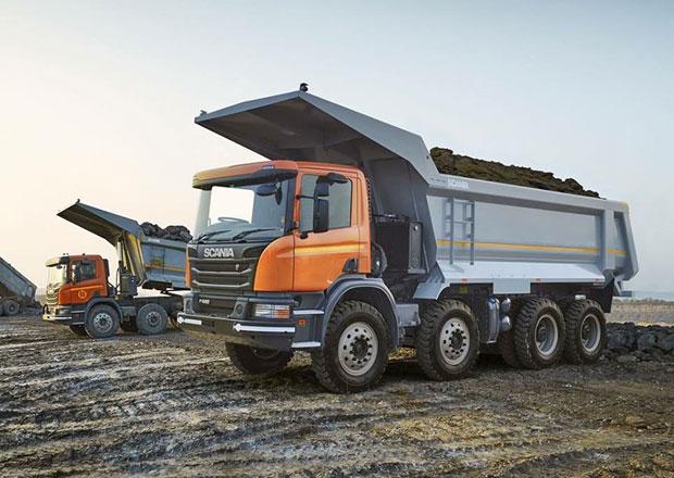Scania a její nové sklápěče pro důlní práce v Indii