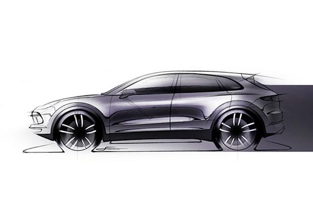 Porsche skicou láká na premiéru nové generace Cayenne