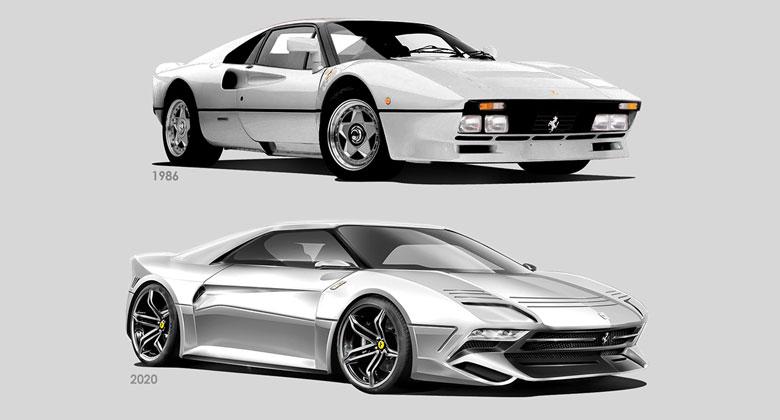 Návrat Ferrari GTO v roce 2020? Jako nástupce LaFerrari...