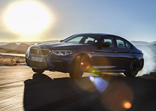Nové BMW M5 předvádí svůj zvuk. Je brutální už v základu! (video)