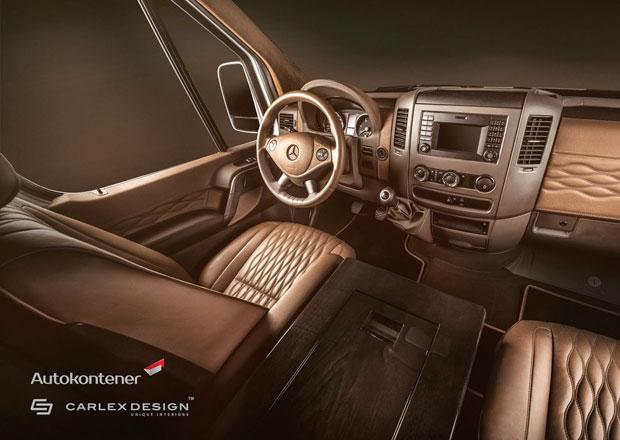 Mercedes Sprinter Luxury Van Project: Luxus první třídy v dodávce
