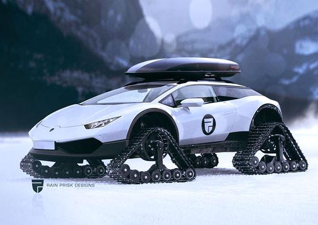 Lamborghini Huracán Allroad? Supersport do terénu může vzniknout!