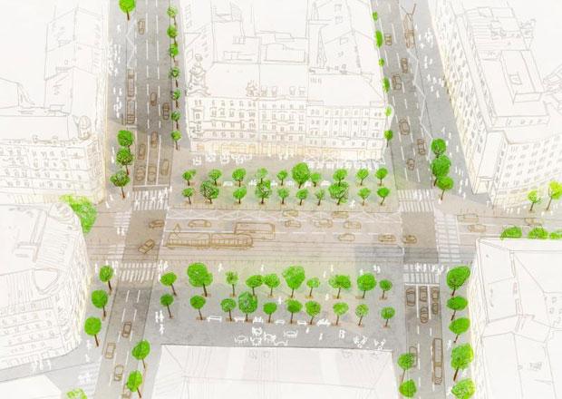 Praha schválila proměnu magistrály, upraví parky i ulice