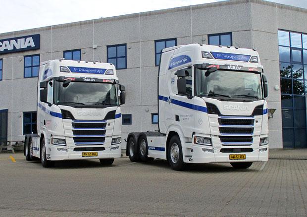 Tahače Scania 141 V8 a R 500: Setkání minulosti se současností