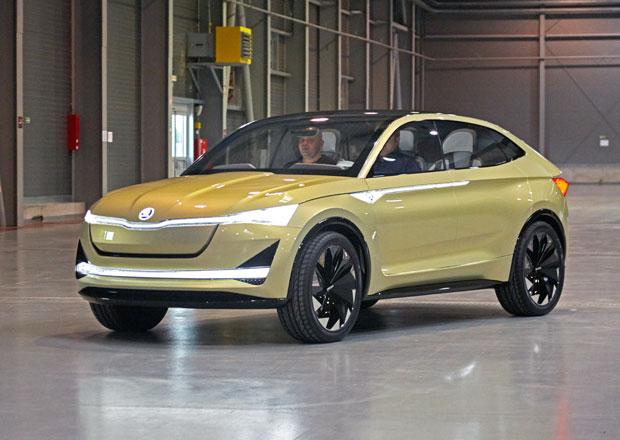 Škoda Vision E: Byli jsme za volantem studie elektromobilu!