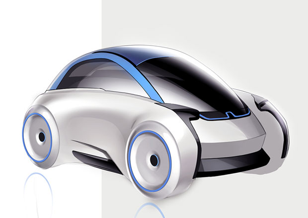 BMW i1 Isetta: Virtuální návrat bubliny